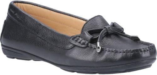 Hush Puppies Maggie Slip On Ladies Shoes Black
